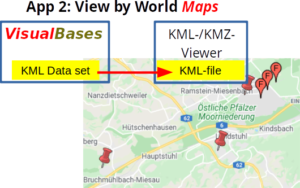 App 2: KML-/KMZ-Viewer